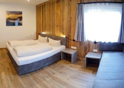 Wandspitz Apartment Dreibettzimmer