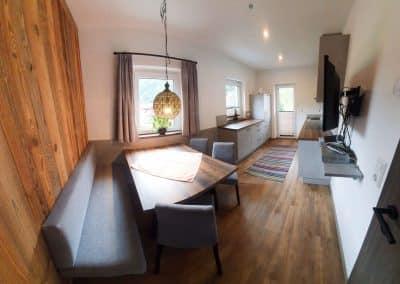 Wandspitz Apartment Küche